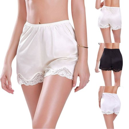 Sexy Ladies Anti-Static Slip Women Loose Panties Boyshorts Lingerie Short Pants (Peter Pan Panties)