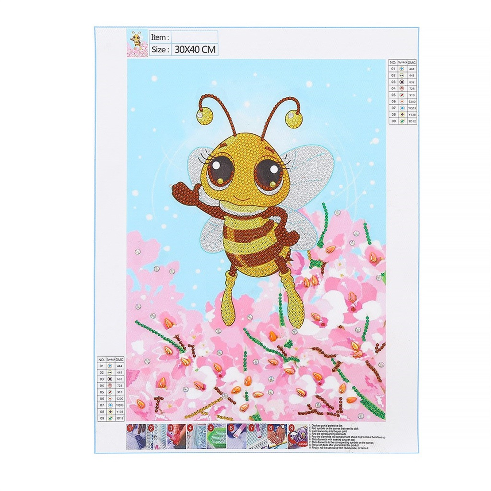 Animals Insects Diamond Painting DIY 5D Partial Drill Cross Stitch Kits Crystal