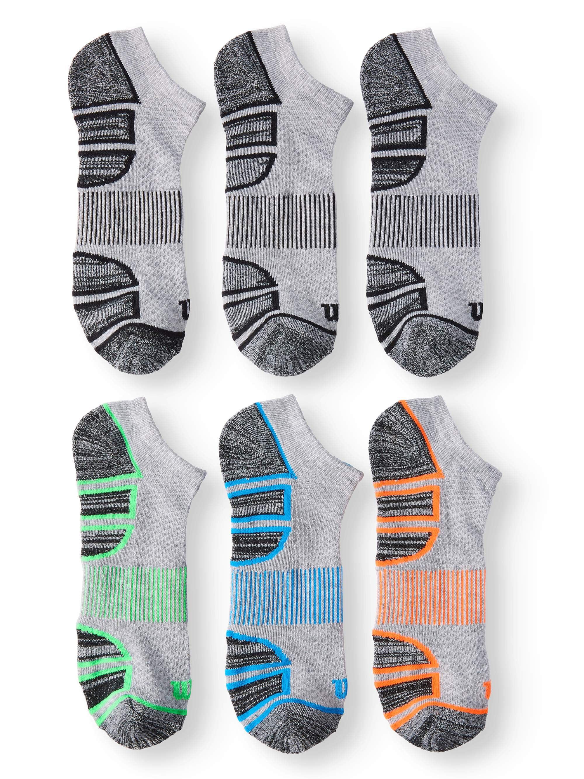 Men's Performance No Show Sock 6-Pack