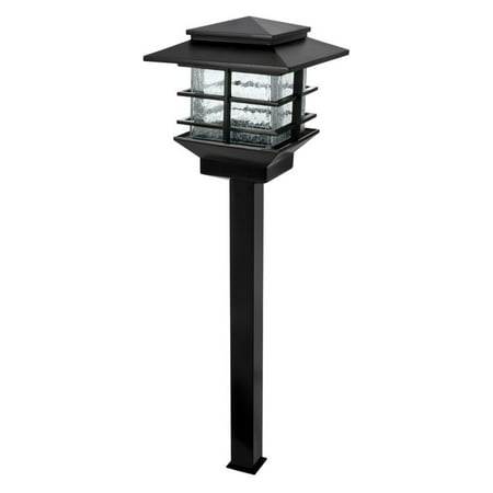 Paradise Garden Lighting Cast Aluminum LED Path Light - Black