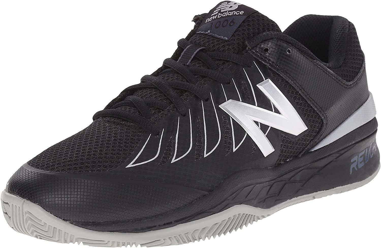 Black/Silver Tennis Shoe - 10.5 2E