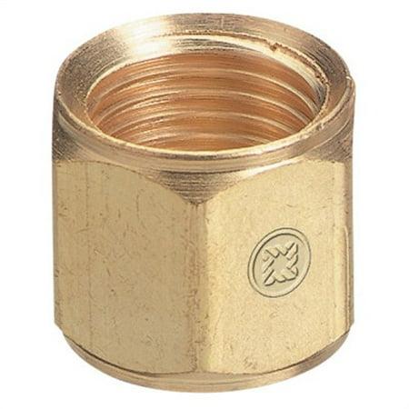 Hose Nuts, 200 Psig, Brass, B-Size, Oxygen