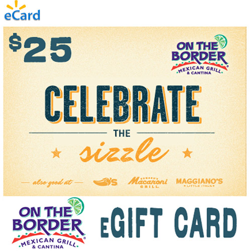 (Email Delivery) On The Border $25 eGift Card