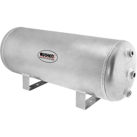 Vixen Air 5 Gallon (20 Liter) 9 Ports Suspension/Train/Horn Raw Aluminum Air Tank 200 PSI (Air Compressor 200 Litre Tank 3hp 240v)