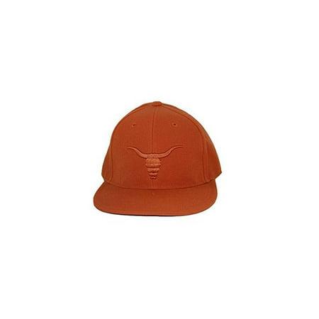 NCAA Texas Longhorns College Fitted Hat Cap - Orange (Texas Longhorn Hats)