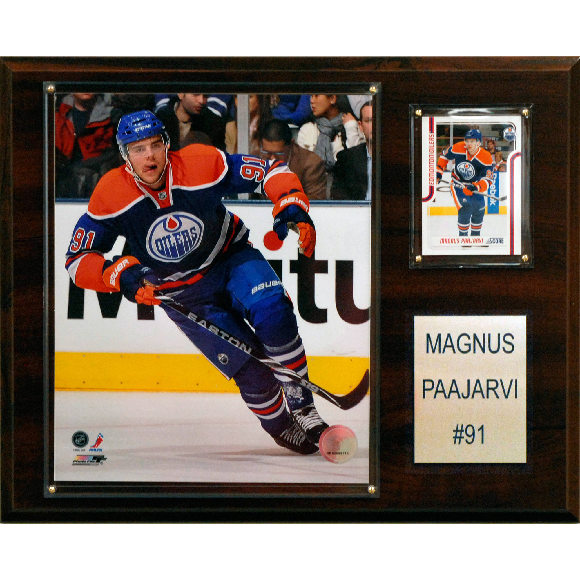 C&I Collectables NHL 12x15 Magnus Paajarvi Edmonton Oilers Player Plaque