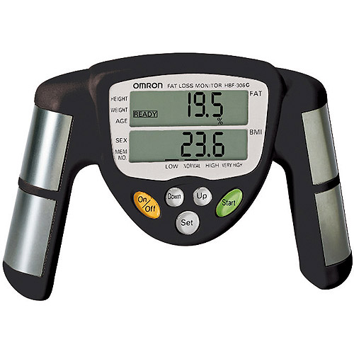 Omron Portable Body Fat Analyzer (Model HBF-306)