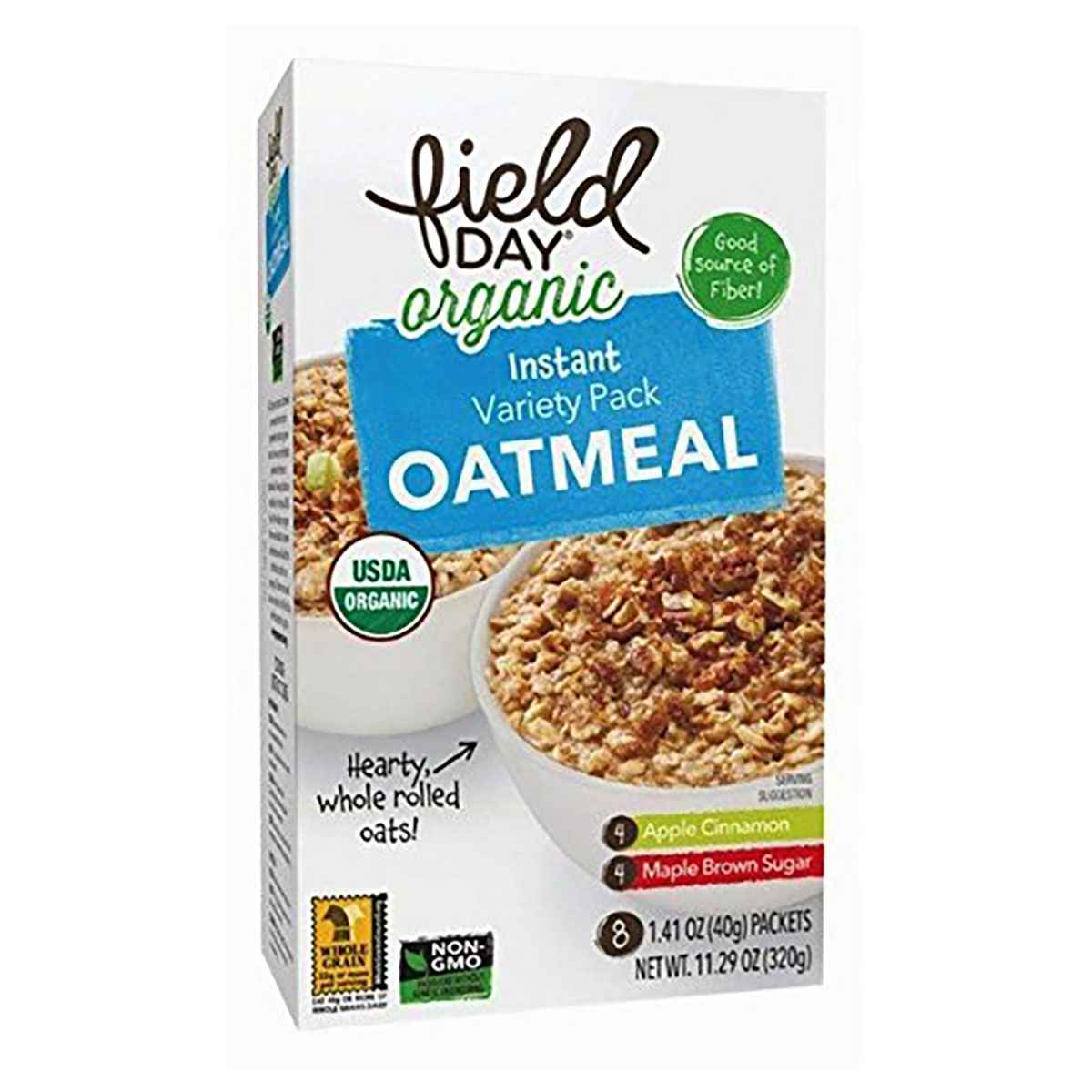 Field Day Inst Oatmeal, Organic, Variety - (Case of 6 - 1...