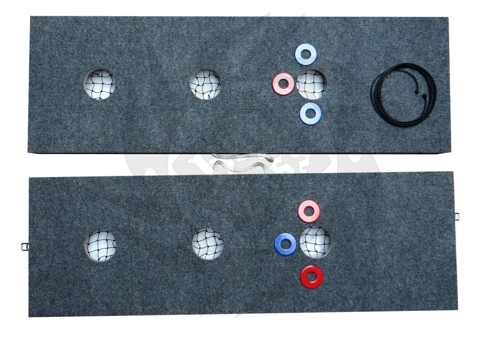 3 Hole Washer Game Horseshoes Pitching Toss by Vorticy