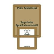 WV Studium: Empirische Sprachwissenschaft (Paperback)