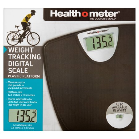 Health O Meter Weight Tracking Digital Bath Scale With 1 2 Inch Lcd Display  Hdm770dq 05