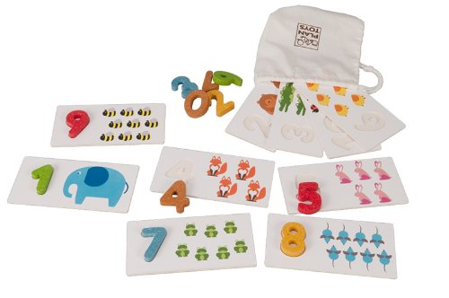 PlanToys Plan Preschool Number 1-10 Baby by Plan Toys