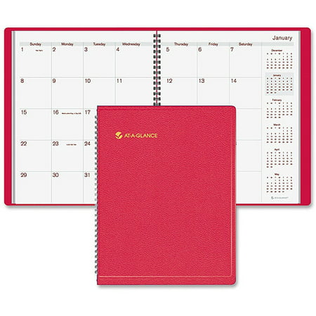 At A Glance Recycled Fashion Color Monthly Planner