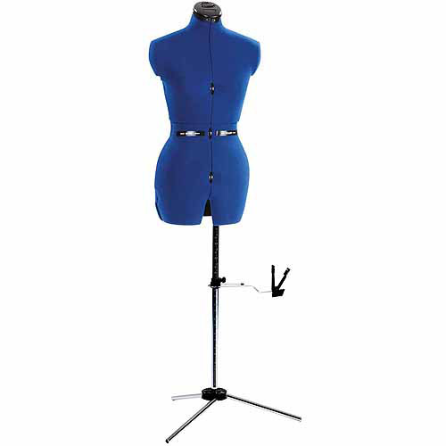 """Dritz My Double Deluxe Dress Form Small, C: 33""""-41"""", W: 26""""-33"""", H: 36-44"""" FOB:MI"""