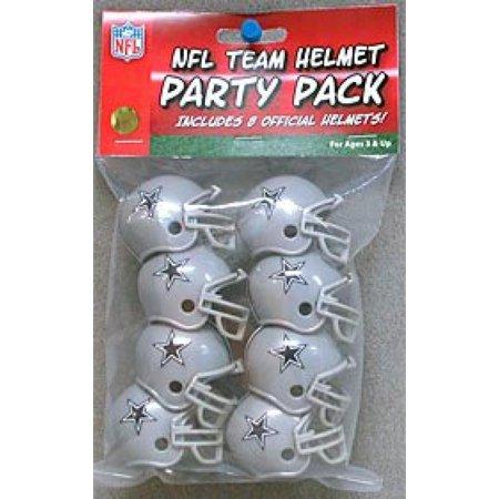 Dallas Cowboys Team Helmet Party Pack - Dallas Cowboys Theme Party