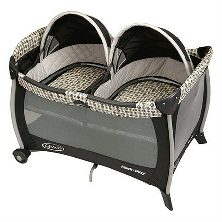 Graco Pack 'n Play Playard with Twin Bassinets,