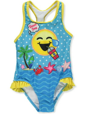 a52360c136 Product Image Emojination Little Girls  Toddler 1-Piece Swimsuit