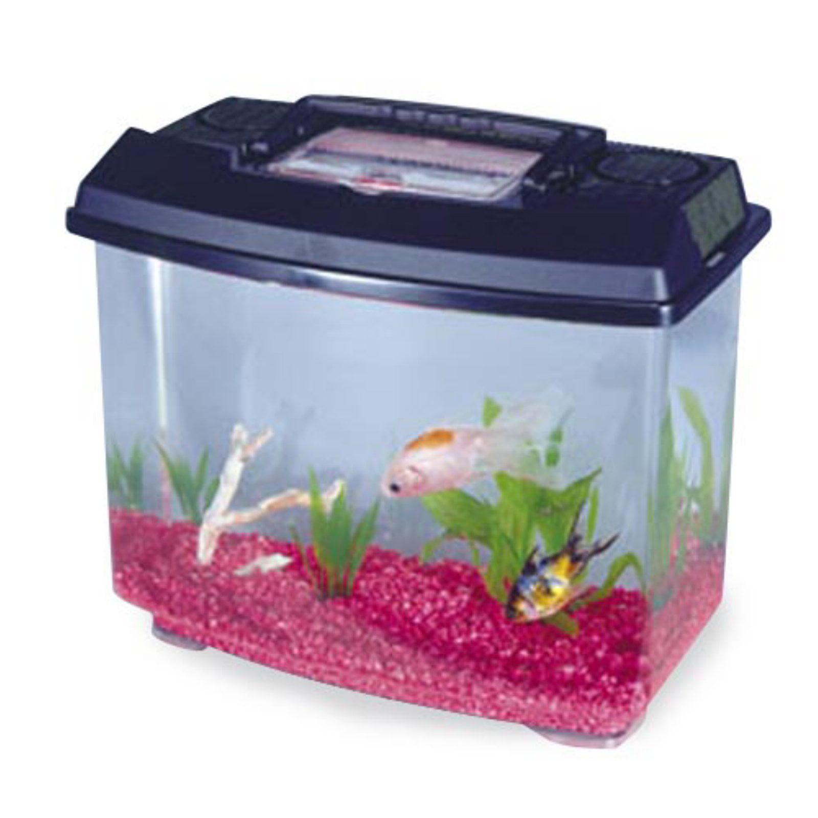 Penn-Plax New World Habitat Fish Tank (Multiple Sizes)