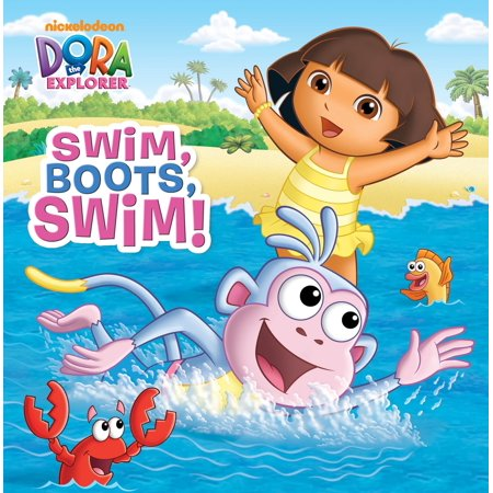 Swim, Boots, Swim! (Dora the Explorer)](Dora The Explorer Coloring Pages Halloween)