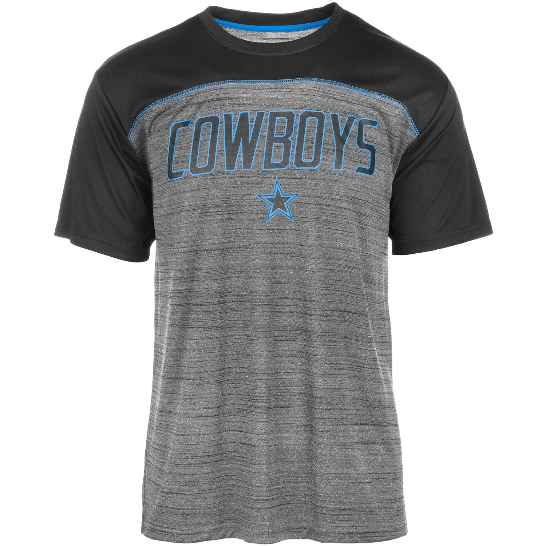 Men's Charcoal/Black Dallas Cowboys Ruger T-Shirt