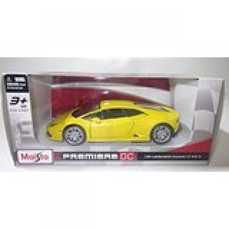 Maisto 1:24 Yellow Lamborghini Huracan LP 610-4