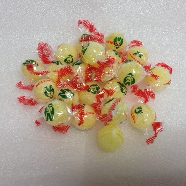 Sour Lemon Napoleons 5 pounds sour lemon bon bon hard candy