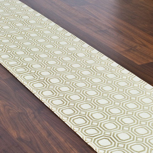 Brite Ideas Living Milo Straw Hemmed Table Runner