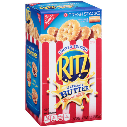 Nabisco Ritz ULimate Butter Crackers, 11.5oz
