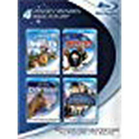 Blu-ray 4-Pack: Disney Movies (The Wild / Chicken Little / Dinosaur / Bridge to Terabithia) (Disneys Dinosaur)