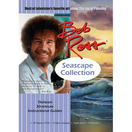 Special Budget Series - Bob Ross Joy of Painting Series: Seascape Collection (DVD)