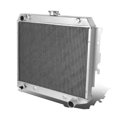 For 1962 to 1967 Chevrolet Chevy II 3 -Row Full Aluminum Racing Radiator 63 64 65