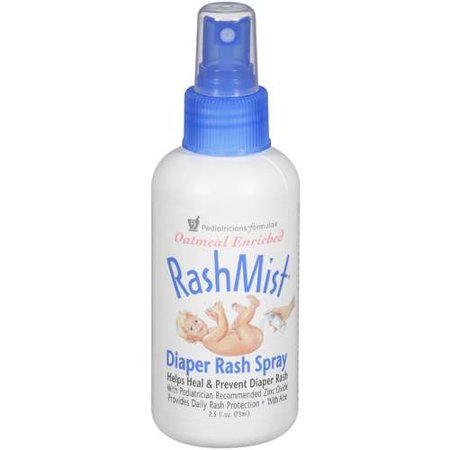 Petkin Inc: Diaper Rash Spray Soothing Rash Mist, 2.50 fl oz