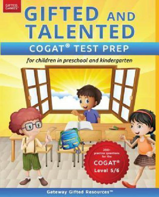 Gifted and Talented Cogat Test Prep: Test Preparation Cogat Level 5 6; Workbook and... by