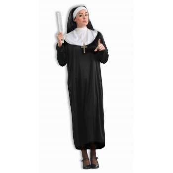 CO-NUN-STANDARD (Nun Halloween Costume Makeup)
