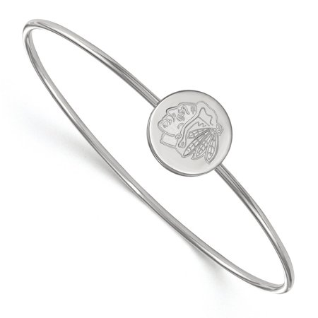 Chicago Blackhawks Slip On Bangle In Sterling Silver 6 95 Gr