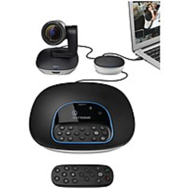 Refurbished Logitech GROUP Video Conferencing System - 1920 x 1080 Video (Content) - 30 fps