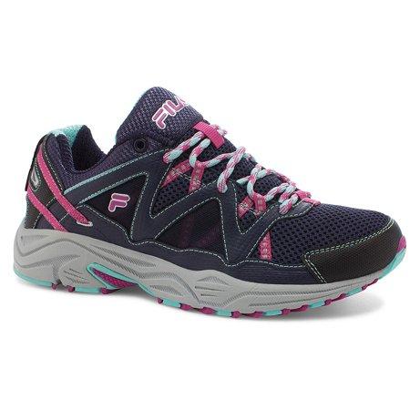 Fila Women's Vitality V Running Shoe NavyAruba BlueFuchsia Red