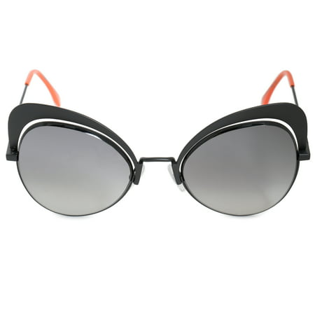d1e3fc5bdac Fendi Eyeshine Butterfly Sunglasses FF0247S 807 9O 54 - Walmart.com