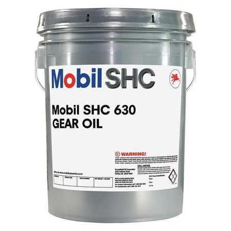 MOBIL Mobil SHC 630, Circulating, ISO 220, 5 gal., 110843