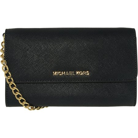 0d01cbb01765c2 Michael Kors - Michael Kors Women's Jet Set Travel Smartphone Crossbody  Leather Cross-Body Satchel - Walmart.com