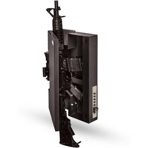 TruckVault Shotlock Gun Safe, Fits AR-Style Carbine, Black by TruckVault