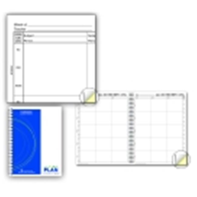 Hammond And Stephens P 2-Part Carbonless Lesson Plan Book, White & Yellow