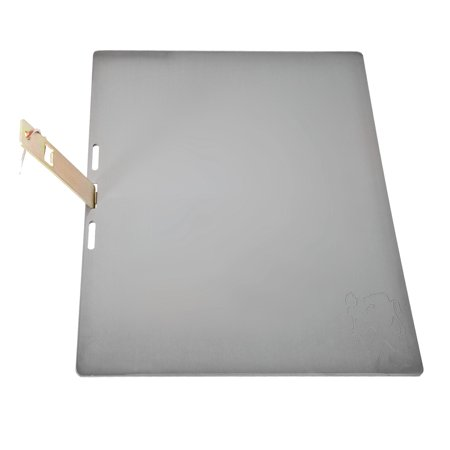 Lion Stainless Steel Griddle Plate, 15x19-Inches