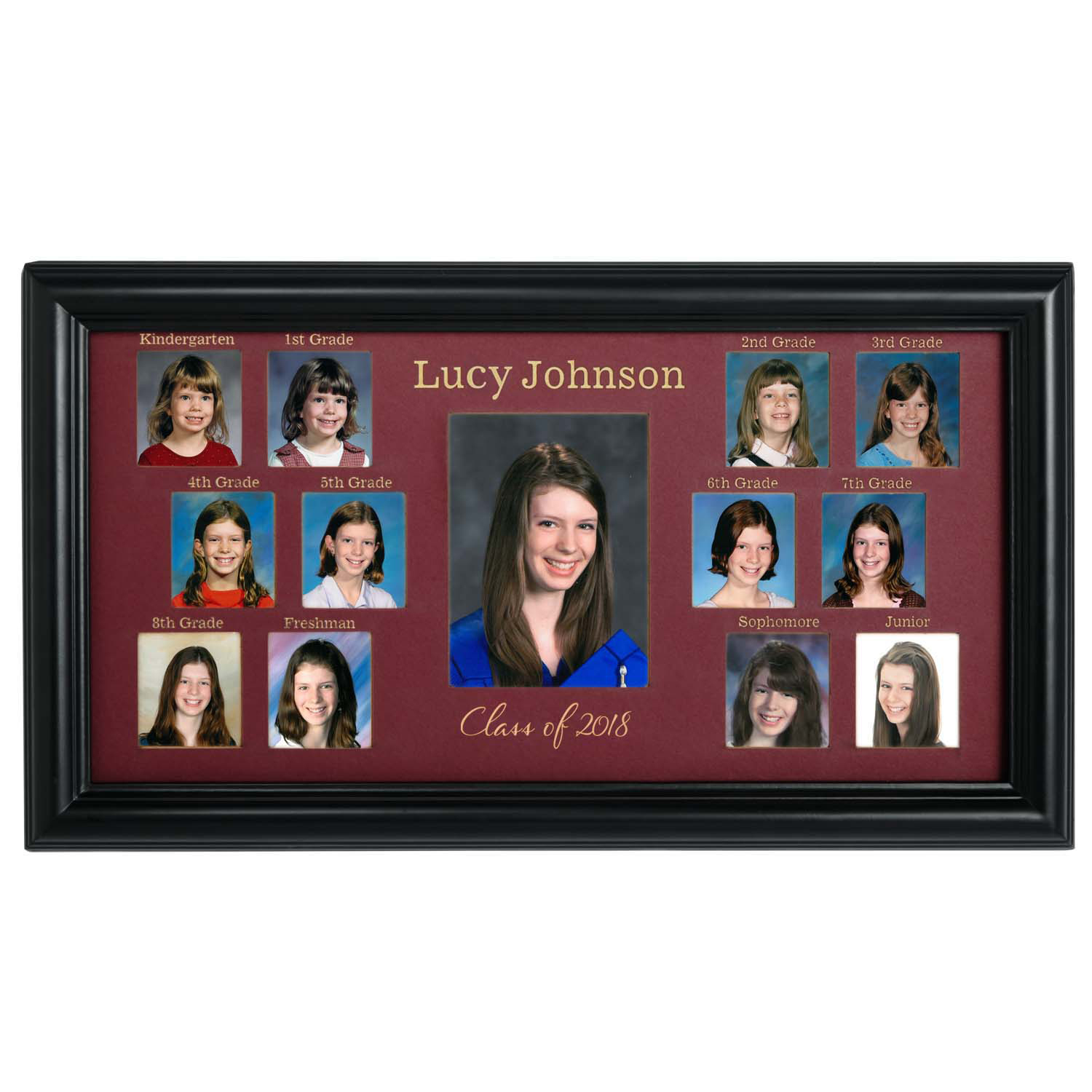 Personalized School Years Photo Frame Walmartcom