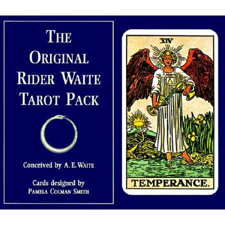 The Original Rider Waite Tarot Pack - The Halloween Tarot Book