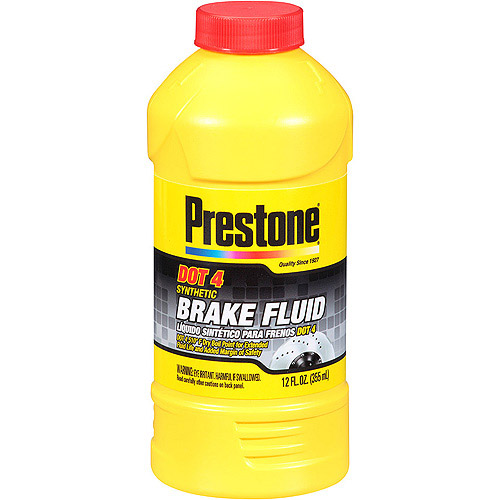 Prestone DOT 4 Synthetic Brake Fluid, 12 oz