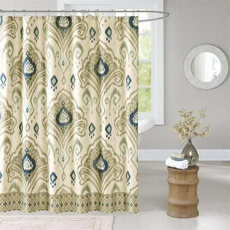 6c5cd156444c66 Imani Shower Curtain Taupe 72x72