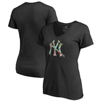 Product Image New York Yankees Fanatics Branded Womens Lovely V Neck T Shirt