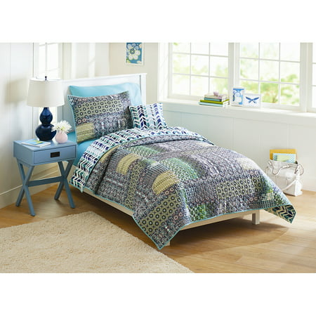 Better Homes And Gardens Global Patchwork Quilt Bedding