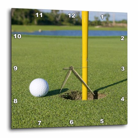 - 3dRose Dominican Republic, Bavaro, Punta Blanca Golf Club-CA14 JEN0120 - Jim Engelbrecht - Wall Clock, 13 by 13-inch